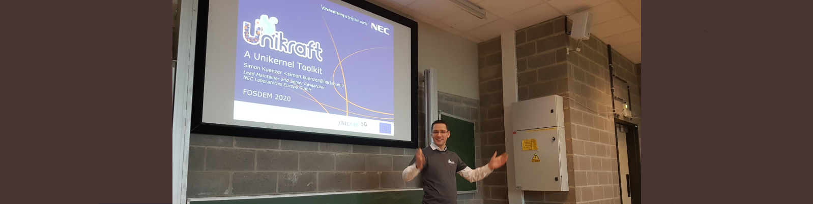 IBM and NEC's presentations at FOSDEM '20, available